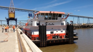 Push Tug without barges taken recently on the Rio Uruguay