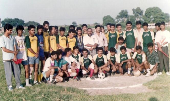 Augustine football